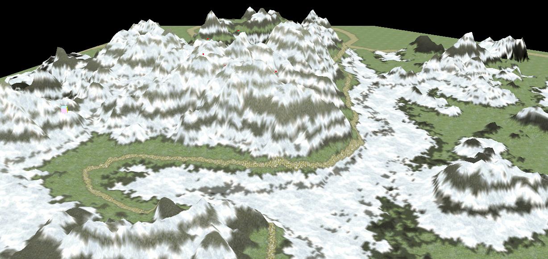 3D Continious env : Auvergne